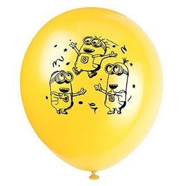 Balloons-Latex-Despicable ME-Minions-12''-8pk