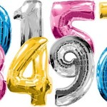 Number and Letter Balloons