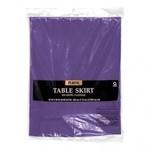 Plastic Table Skirt - Gold - 1pc