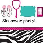 Sleepover Spa/Pink Zebra