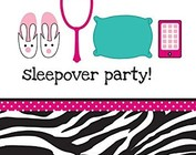 Sleepover Spa/Pink Zebra
