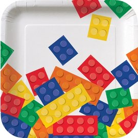 Plates-BEV-Block Party-8pkg-7''-Paper