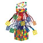 """Centerpiece-Foil Cascade-Block Party-1pkg-14"""""""