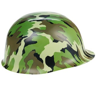 Army Hat-Plastic-Camouflage-1pkg