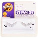 Costume Accessory-Diamond Black Eye Lashes-1pkg