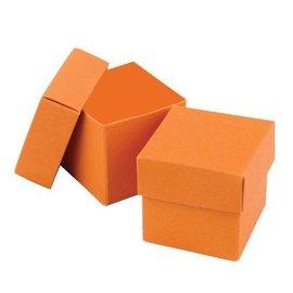 Favor Boxes- Orange- 25pk
