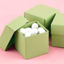 Favor boxes- Olive- 25pk