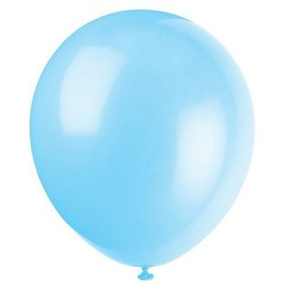 Balloons-Latex-Baby Blue-12''-72Pk