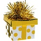 Balloon Weight-Gift Package -Gold Dots-6oz