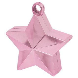 Balloon Weight-Star Electroplated-Pink-6oz