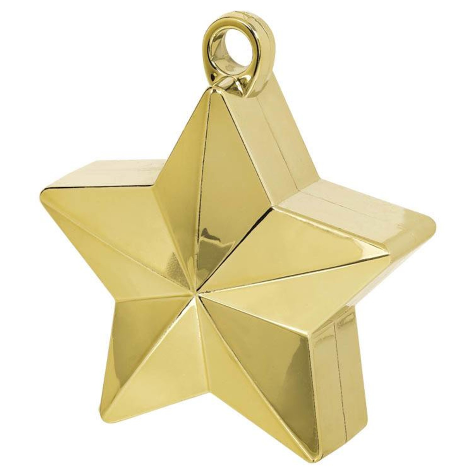 Balloon Weight-Star Electroplated-Gold-6oz