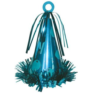 Balloon Weight-Party Hat-Light Blue-6oz