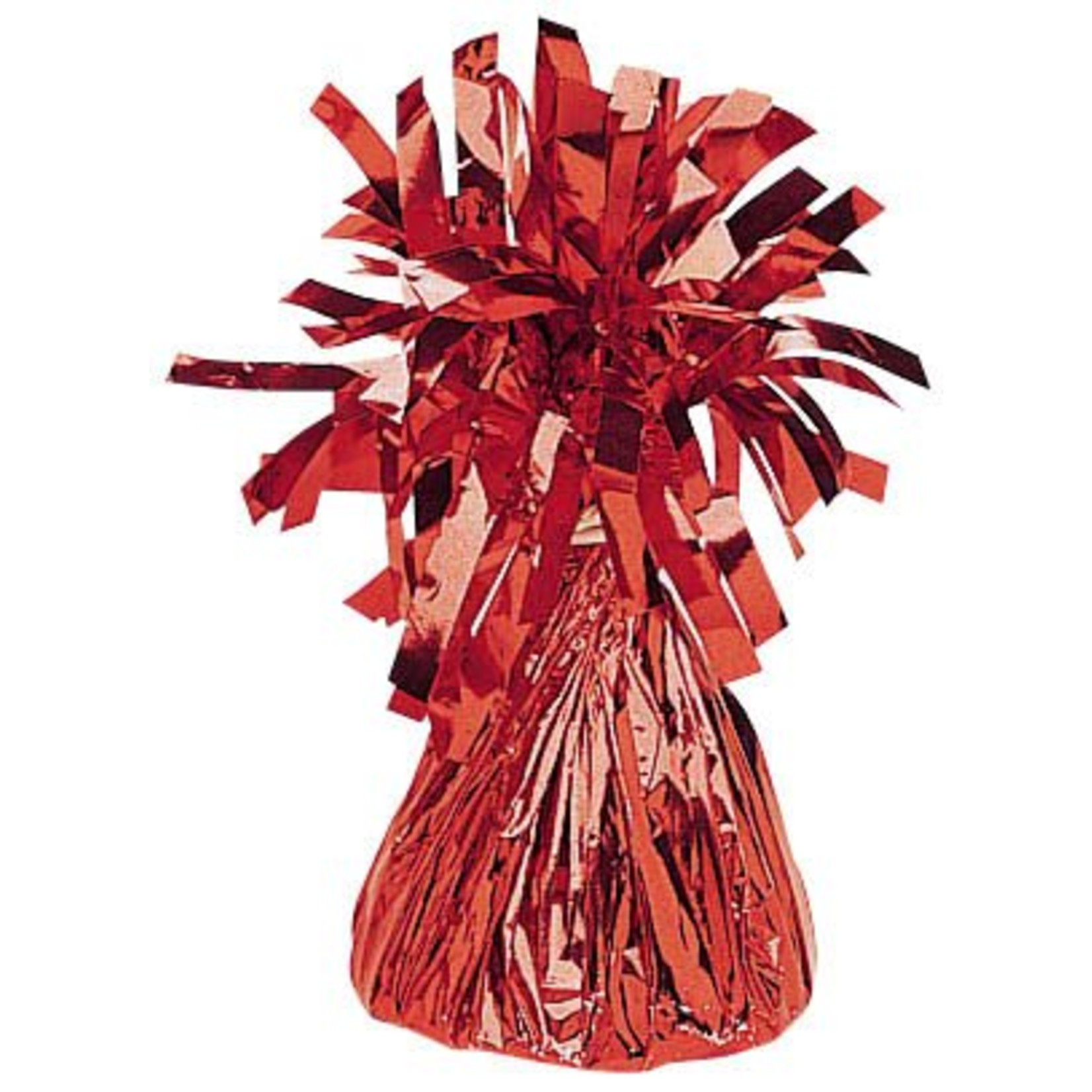 Balloon Weight-Small Foil-Red-6oz