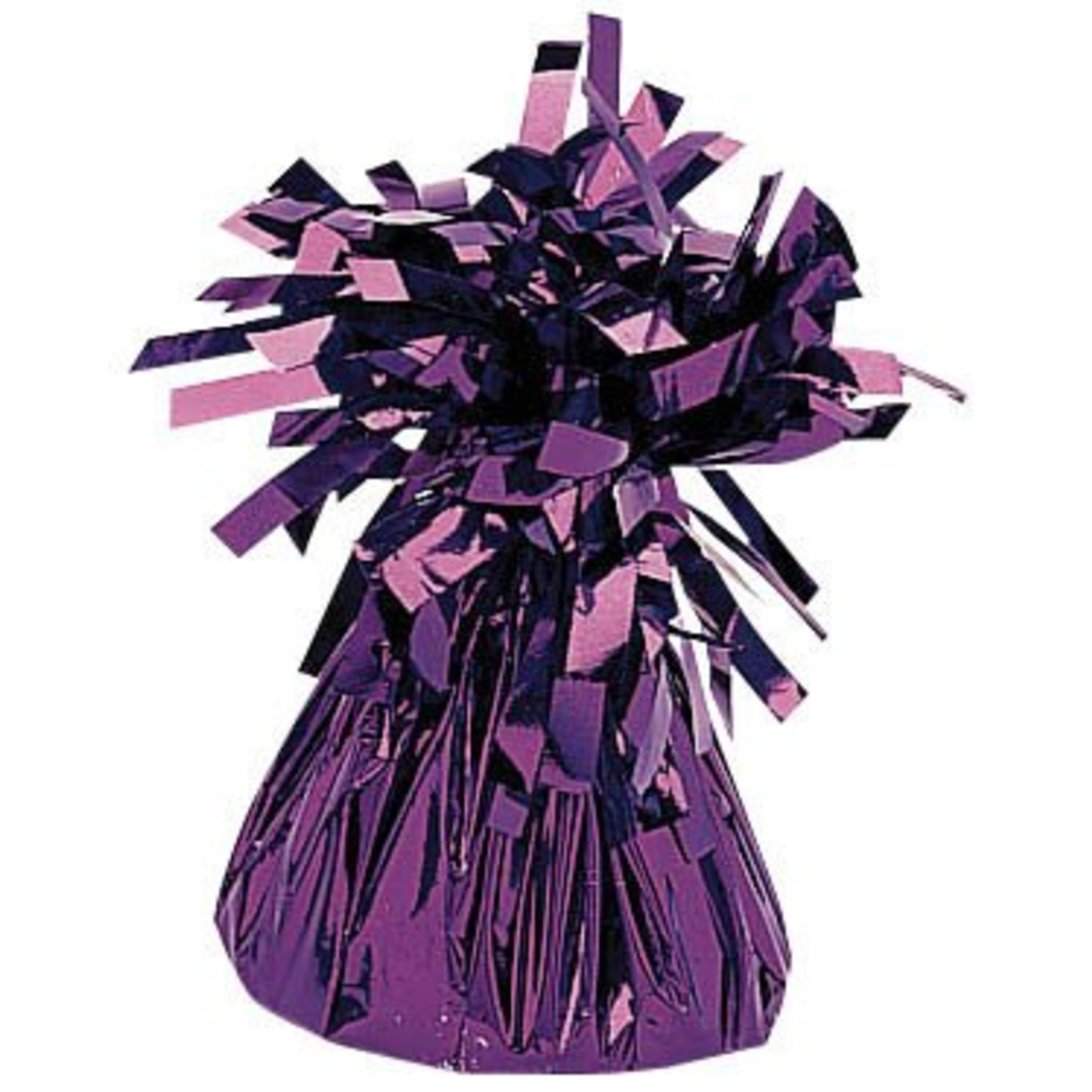 Balloon Weight-Small Foil-Purple-6oz