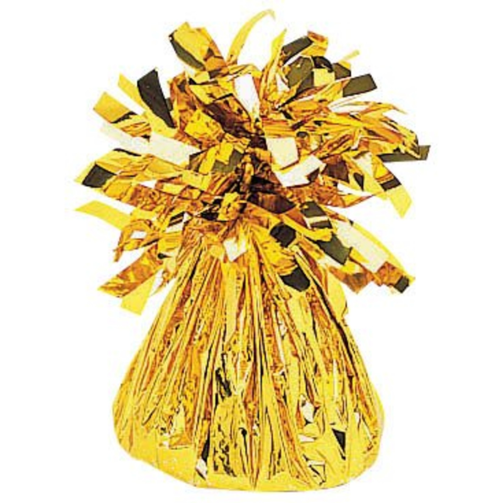 Balloon Weight-Small Foil-Gold-6oz