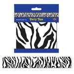 Party Tape-Plastic-Zebra Print-1pkg-20ft