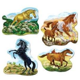 """Cutouts-Horses-4pkg-15.5"""""""