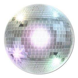 """Cutout-Large Disco Ball-1pkg-13.5"""""""