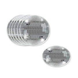 "Drink Coasters-Disco Balls-8pkg-3.5"""