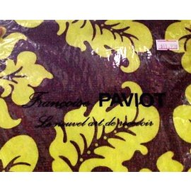 Napkins-DN-Yellow Flower Pattern-20pkg-2ply (Discontinued)
