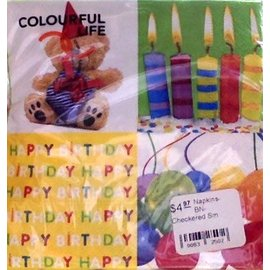 Napkins-BEV-Birthday Suprise-20pkg-3ply- Discontinued