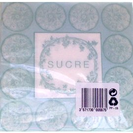 Napkins-BEV-Sucre-20pkg-2ply- Discontinued/Final Sale