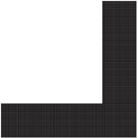 Napkins-LN-Textured Black Velvet Border-24pkg-3ply