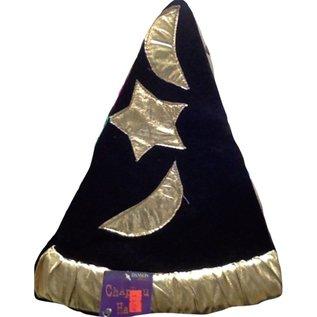 7c5e7ace1a649 Black   Gold Hat- Chapeau - Victoria Party Store