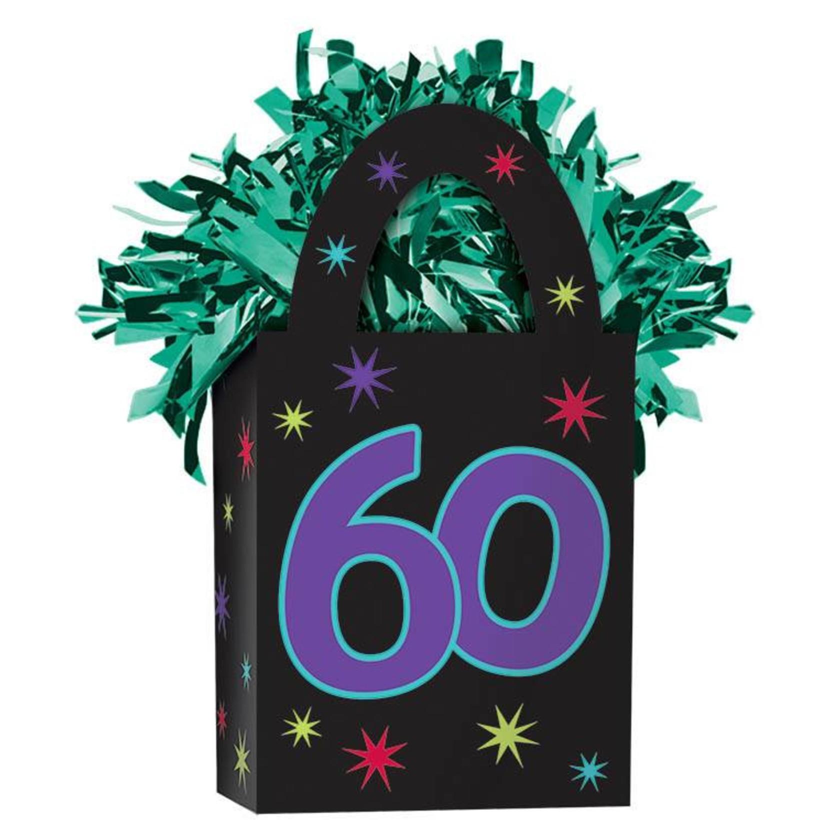 Balloon Weight-60th Birthday-5.7oz