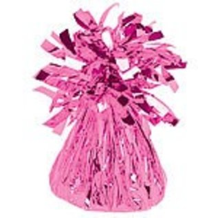 Balloon Weight-Small Foil-Bright Pink-6oz