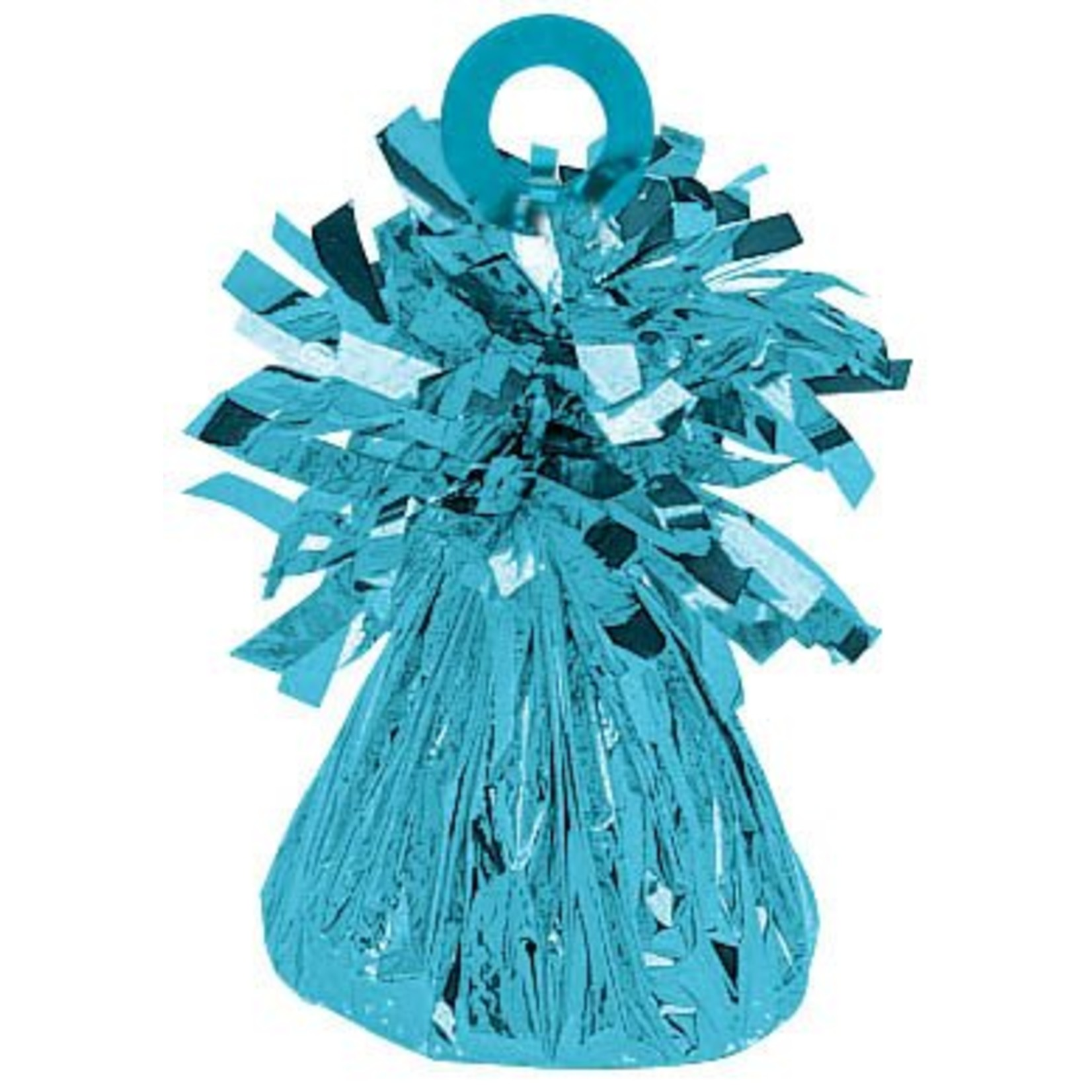 Balloon Weight-Small Foil-Caribbean Blue-6oz
