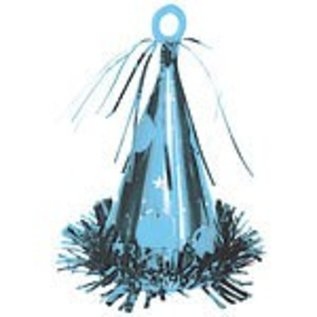 Balloon Weight-Party Hat-Caribbean Blue-6oz