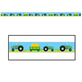 Party Tape-Plastic-Tractor-1pkg-20ft