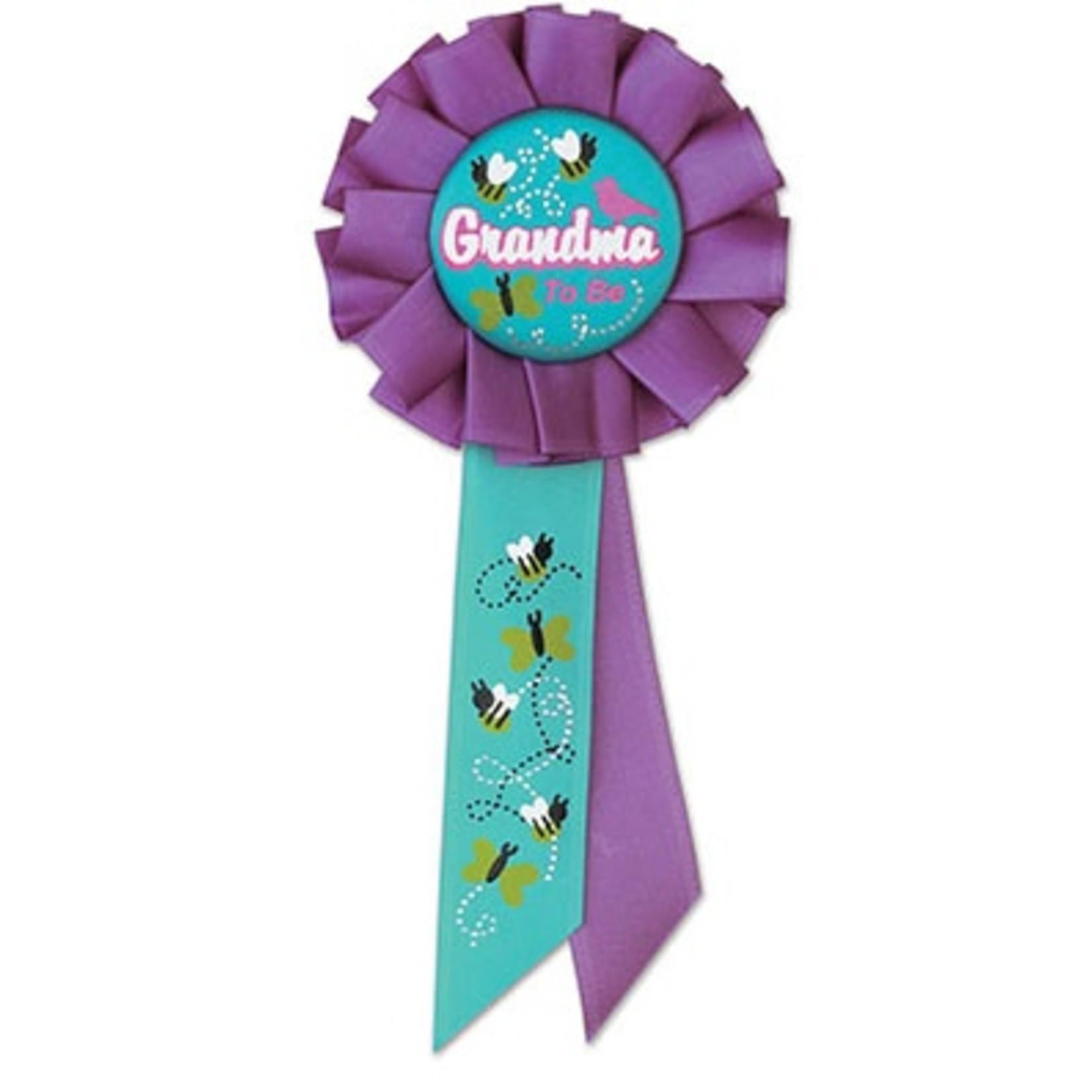 "Award Ribbon-Grandma To Be-1pkg-6.5"""