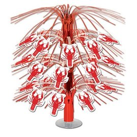 Centerpiece-Metallic Cascade-Crawfish-1pkg-18""