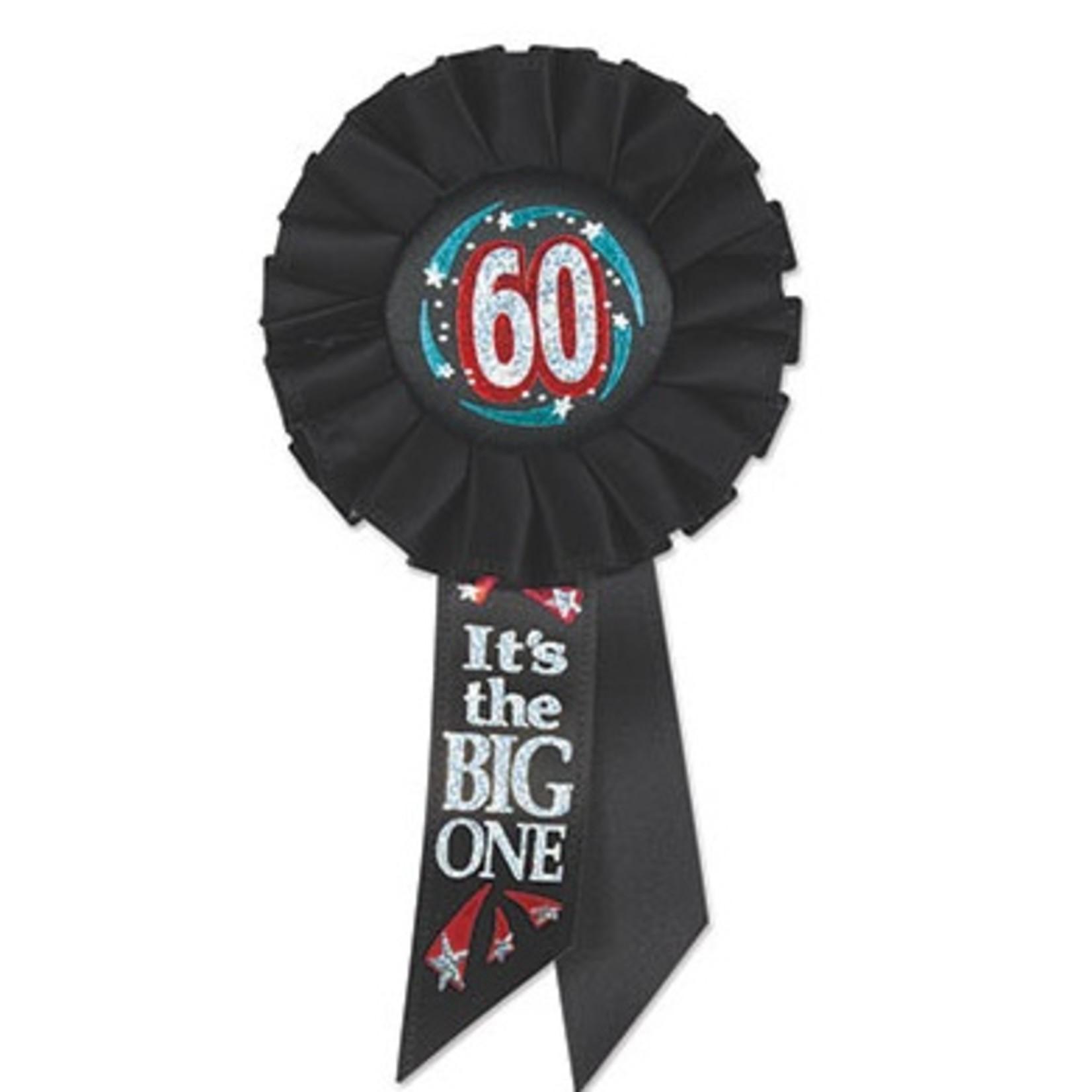 "Award Ribbon-60 It's the Big One-1pkg-6.5"""