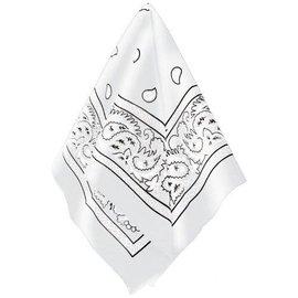 Bandana-White-20''x20''