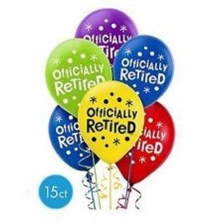Balloons Latex Happy 60th Birthday 12 15pk