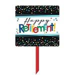 Sign-Yard-Happy retirement-39''