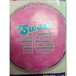 "Foil Balloon - Sweet 16 - 18"""