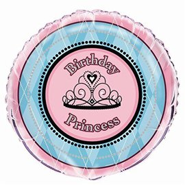 Foil Balloon - Fairytale Princess - 18""
