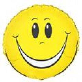 Balloon-Foil-Happy Face-18''
