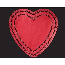 Doilies-Red Heart-12pkg-10""