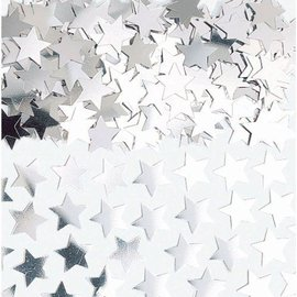 Confetti- Silver Stars- 7g