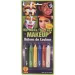 Costume Accessory-Assorted Crayon Makeup-6pkg-13g