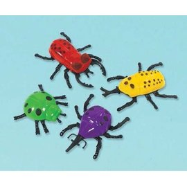 Party Favors-Wall Crawling Bugs-Plastic-8pk