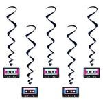 Danglers-Swirl-Cassette Tapes-5pkg-3.3ft