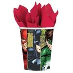 Cups-Justice League-Paper-9oz-8pk