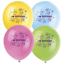 "Latex Balloons-Shopkins-8pkg-12"""