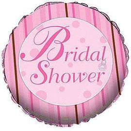 "Foil Balloon - Bridal Shower Dots - 18"""